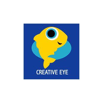 Fish creative eye T-shirt